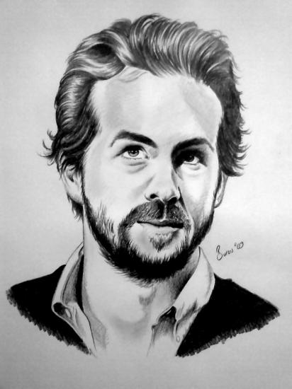 Ryan Reynolds by burcu